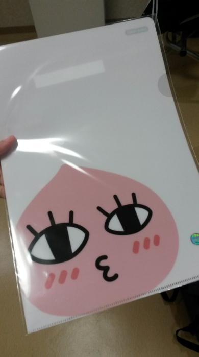 (again) my peach folder <3