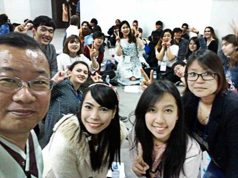 Team 8 with Mr.Ha!