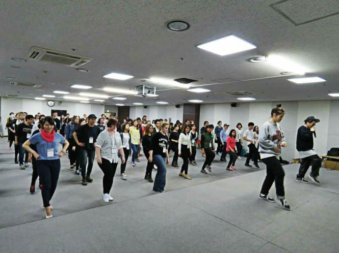 Dancing practice!
